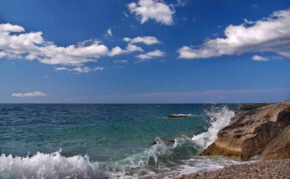 Морские пейзажи, красивые